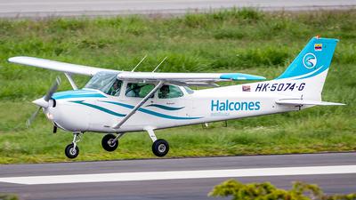 HK-5074-G - Cessna 172N Skyhawk II - Escuela de Aviación Los Halcones