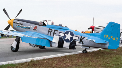 N151RK - North American P-51D Mustang - Private