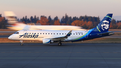 A picture of N630QX - Embraer E175LR - Alaska Airlines - © Hongming Zheng