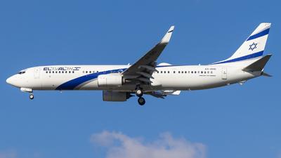 A picture of 4XEHD - Boeing 737958(ER) - El Al - © Eyal Zarrad