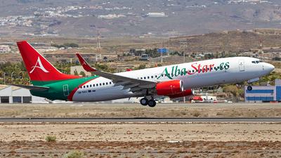OM-NAS - Boeing 737-86J - AlbaStar