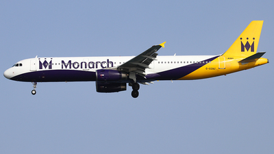 G-OZBZ - Airbus A321-231 - Monarch Airlines