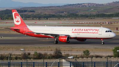 OE-LCG - Airbus A321-211 - LaudaMotion