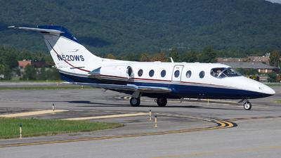 N520WS - Hawker Beechcraft 400A - Private