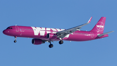 TF-GPA - Airbus A321-211 - WOW Air