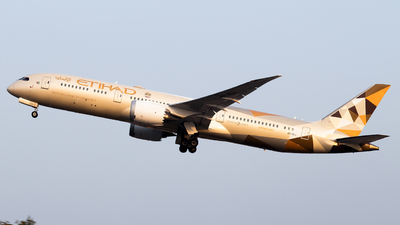 A picture of A6BLL - Boeing 7879 Dreamliner - Etihad Airways - © Abdullah A. Mughal