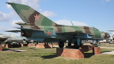 62 - Mikoyan-Gurevich Mig-21PFM Fishbed - Bulgaria - Air Force