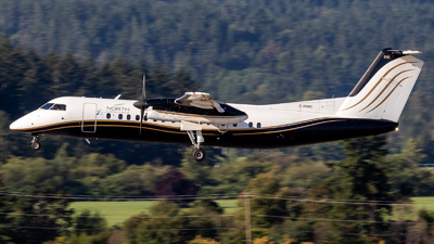 A picture of CFHNC - De Havilland Canada Dash 8300 - North Caribou Flying Service - © Grant Gladych