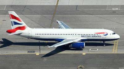 G-EUUE - Airbus A320-232 - British Airways