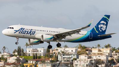 A picture of N361VA - Airbus A320214 - Alaska Airlines - © Koson Verkler