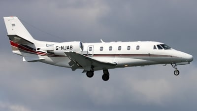 G-NJAB - Cessna 560XL Citation XLS - NetJets UK