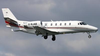 A picture of GNJAB - Cessna 560XL Citation XLS - Netjets UK - © GH_BHD