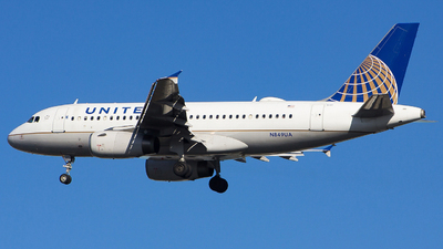 A picture of N849UA - Airbus A319131 - United Airlines - © Xiamen Air 849
