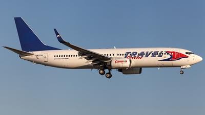 OK-TVK - Boeing 737-86N - Travel Service