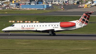 A picture of GSAJT - Embraer ERJ135ER - Loganair - © Dan Smith