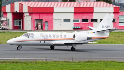 A picture of ECGOV - Cessna 560 Citation V Ultra - [5600419] - © jose luis maquieira