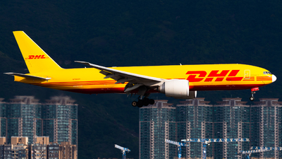 A picture of N705GT - Boeing 777F - DHL - © Ka Hung Yue
