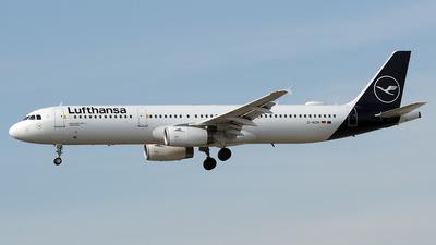 D-AIDN - Airbus A321-231 - Lufthansa