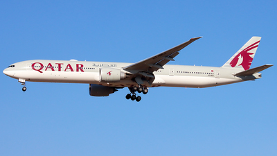 A7-BEJ - Boeing 777-3DZER - Qatar Airways
