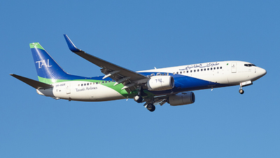 A picture of 7TVCE - Boeing 7378ZQ - Tassili Airlines - © Gaël ROUX