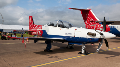 G-ETPB - Pilatus PC-21 - United Kingdom - QinetiQ
