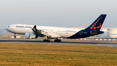 OO-SFD - Airbus A330-342 - Brussels Airlines