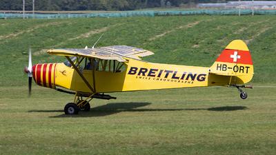 HB-ORT - Piper PA-18-180M Super Cub - Private