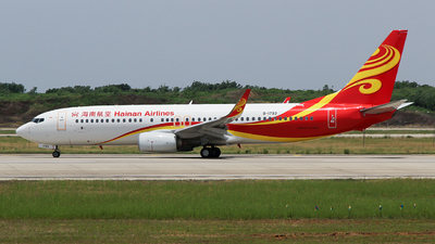 A picture of B1793 - Boeing 73786J - Hainan Airlines - © ceci wong