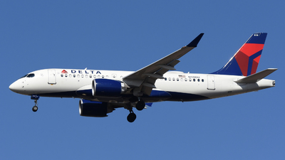 A picture of N119DU - Airbus A220100 - Delta Air Lines - © DJ Reed - OPShots Photo Team