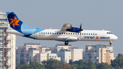 A picture of 4XATI - ATR 72500 - Israir Airlines - © Eyal Zarrad