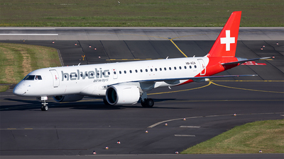 HB-AZA - Embraer 190-300STD - Helvetic Airways