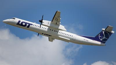 A picture of SPEQC - De Havilland Canada Dash 8400 - LOT - © Kuba Kawczynski - @kubasamolot
