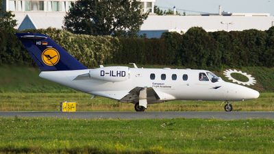 D-ILHD - Cessna 525 CitationJet 1 Plus - European Flight Academy