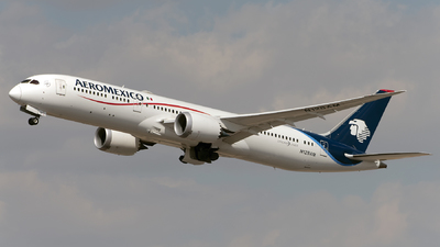 A picture of N128AM - Boeing 7879 Dreamliner - Aeromexico - © Caballero Aguila