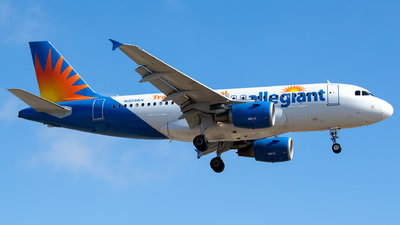 A picture of N306NV - Airbus A319112 - Allegiant Air - © Roberto Balboa