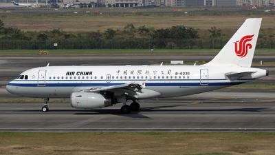 B-6236 - Airbus A319-131 - Air China