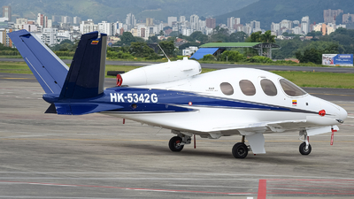 HK-5342G - Cirrus Vision SF50 G2 - Helistar Colombia