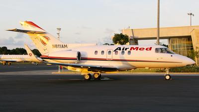 N811AM - British Aerospace BAe 125-800A - AirMed International
