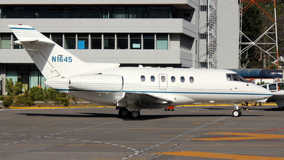 N1645 - Raytheon Hawker 800XP - Private