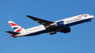 G-VIIU - Boeing 777-236(ER) - British Airways
