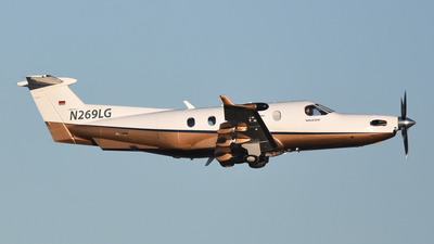 A picture of N269LG - Pilatus PC12/45 - [633] - © Oliver Franz