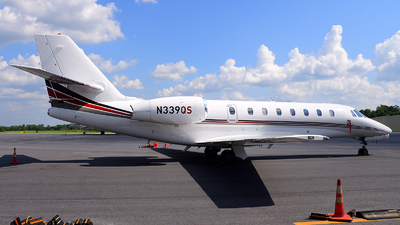 N339QS - Cessna 680 Citation Sovereign - NetJets Aviation