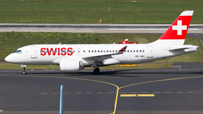 A picture of HBJBH - Airbus A220100 - Swiss - © Jan-Eike Berger