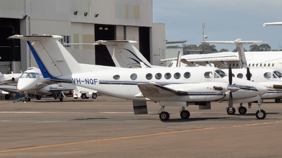 VH-NQF - Beechcraft 200 Super King Air - Royal Flying Doctor Service of Australia (Queensland Section)