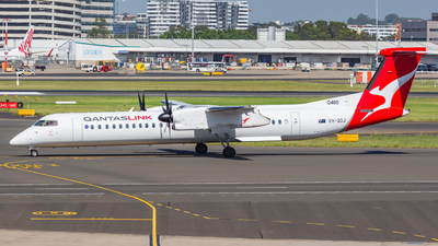 VH-QOJ - Bombardier Dash 8-Q402 - QantasLink (Sunstate Airlines)