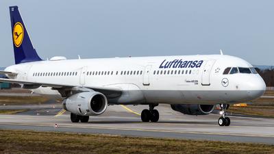 A picture of DAISX - Airbus A321231 - Lufthansa - © TJDarmstadt