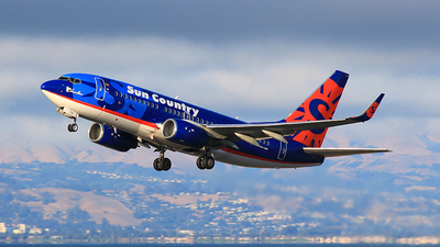 N714SY - Boeing 737-752 - Sun Country Airlines
