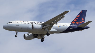 A picture of OOSSH - Airbus A319112 - Brussels Airlines - © eriknorthman