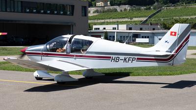 HB-KFP - Robin DR400/140B Major - Groupe de Vol à Moteur Neuchâtel