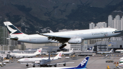 VR-HLF - Airbus A330-342 - Cathay Pacific Airways